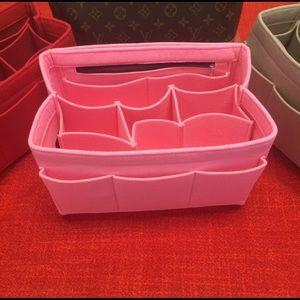 Handbags - ❤️LARGE PINK purse / tote Bag Insert organizer ❤️